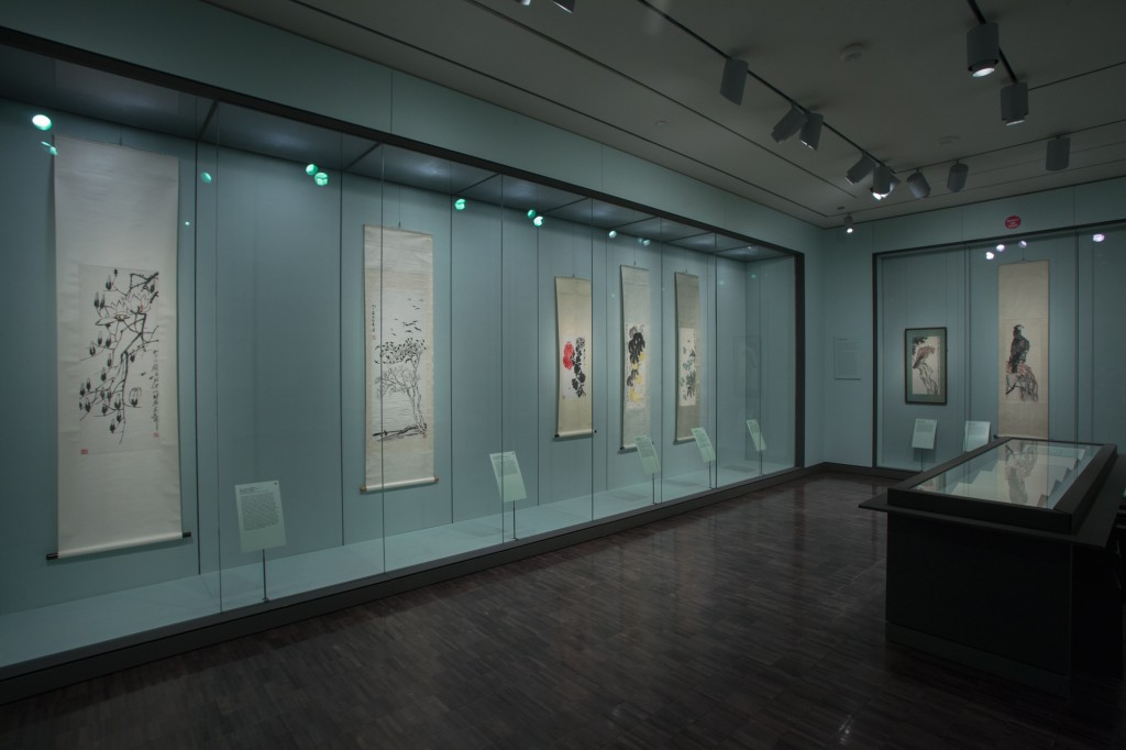 The Painted Brush, Chinese painting gallery, October 2013