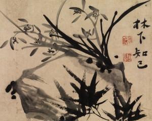 Shitao (1641-ca. 1717), Orchids