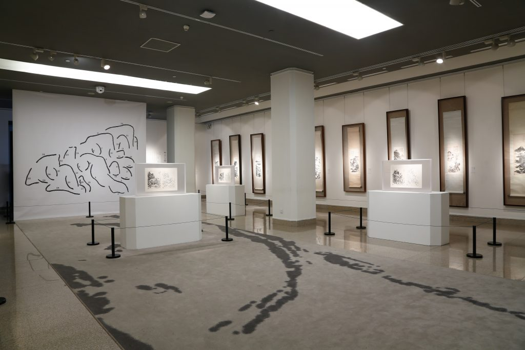 NAMOC Huang Binhong exhibition gallery, April 2015